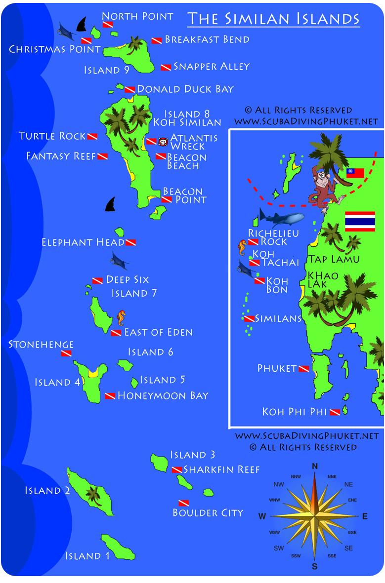 Wyspy Similan